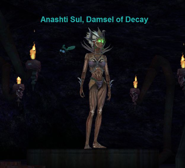 Damsel of decay